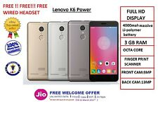 Lenovo K6 Power ,32 GB ROM ,3 GB RAM, Sealed Packed,1 Year Manufacturer Warranty