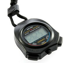 Digital Chronograph Sports Stopwatch Counter with Strap MC