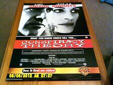 Conspiracy Theory (mel gibson, julia roberts) Movie Poster A2