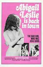 Abigail Leslie Is Back In Town Poster 01 A3 Box Canvas Print