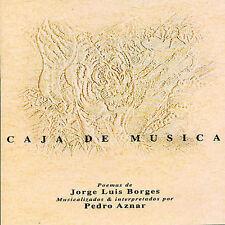 AZNAR PEDRO-CAJA DE MUSICA CD NEW