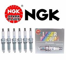 NEW 6-Pieces OEM Recommended NGK Lasser Platinum Spark Plugs Audi VW V6