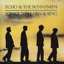 Songs To Learn & Sing by Echo & the Bunnymen (CD, Nov-1985, Wea)