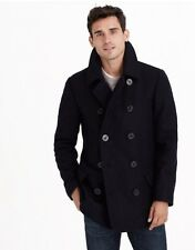 NEW JCrew Dock Peacoat Thinsulate Charcoal L $298 05536 Fitted Quilt Jacket Coat