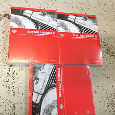 2014 Harley Davidson SOFTAIL MODELS Service Manual Set W Wiring & Parts + Owners