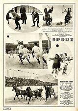 Sport Eisschnell-Laufmeister Meyke u.Grund Pferderennen in Garmisch-Parten..1928