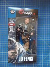 "Gears of War JD Fenix Blue Colour Tops 7"" Figure McFarlane Toys"