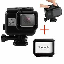 Impermeabile Custodia Housing Case+Touch Screen Protector Cover Per Gopro Hero 5
