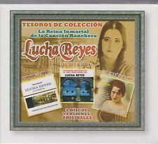 SEALED Lucha Reyes 3 CD's La Reina Inmortal De La Cancion Ranchera 887254519027