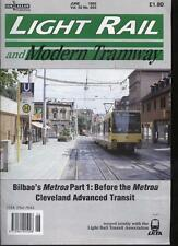 LIGHT RAIL AND MODERN TRAMWAY MAGAZINE - June 1992 - Vol. 55 - No. 654