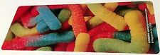 NEW! 24 GUMMY WORM SCENTED BOOKMARKS CANDY PARTY FAVOR REWARD BOOK CLUB
