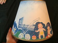 Child Nursery Baby 1999 Vintage Lampshade Lamp Shade Brand New Never Used