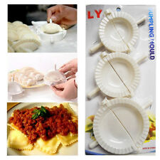 Dumpling Mould Meat Ravioli Pastry Pie Gyoza Mini Calzon Make Press Cutter x 3