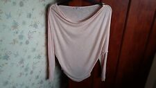 Ladies top by Wal G, light pink,size M,new, read sescription