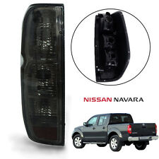 For Nissan Frontier NAVARA Tekna D40 Tail Light Rear Lamp Black Smoke Len Left