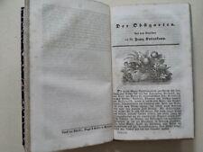 """Kottenkamp, """"Der Obstgarten"""" u. """"Die Waldbäume"""",  Roth: """"Der Blumengarten, 1846"""