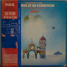 TOMITA: Pictures at an Exhibition-NM1975LP JAPANESE IMPORT WITH OBI