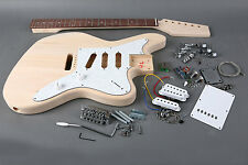 Kit DIY Guitarra eléctrica Jaguar Tilo- Jaguar electric guitar Kit DIY Basswood