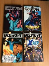 ENCICLOPEDIA MARVEL 4 VOLUMI CARTONATI PANINI SPIDER-MAN X-MEN FANTASTICI 4