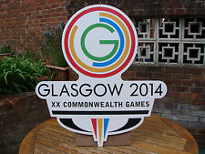 Commonwealth Games Glasgow 2014 Sign Cycling Large Colour Wall Art