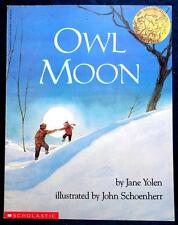 OWL MOON by Jane Yolen FREE SHIPPING paperback children's book classic Scho