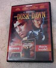 DUSK TILL DAWN / FULL TILT BOOGIE - 2 Films in One DVD Crime Drama + Documentary