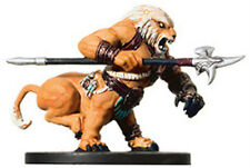 D&D Miniatures wemic Barbarian 25/60 R Tambores De Guerra