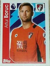 9 Artur Boruc BOURNEMOUTH 2016/2017 Topps Merlin Premier League sticker