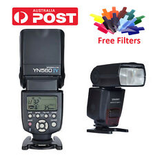YONGNUO YN-560 IV Wrieless Flash Speedlite for Canon Nikon DSLR/YN560 III AU