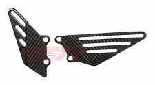 2010 2011 2012 2013 Kawasaki ZX14 ZX14R Heel Foot Plate Guard Twill Carbon Fiber