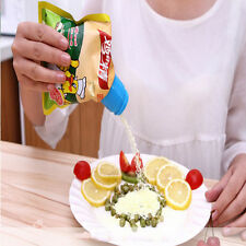 Creative Home Plastic Sealing Bag Discharge Nozzle Food Tube Sealed Clip Best