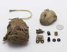 1/6 Dam Marsoc Team Leader Backpack Helmet Lot *TOY*