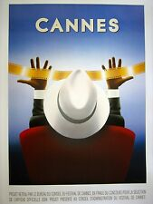"RAZZIA ""CANNES"" POSTER SIGNED IN PEN"