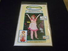 NEW SEWING PATTERN SZ. 4-14 APRON PATTERN A FASHION LAYER FOR EVERY DAY