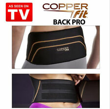 Copper Fit Back Pro As Seen On TV Compression Lower Lumbar Support Belt S/M