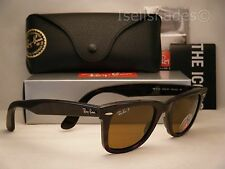 Ray Ban 2140 Wayfarer Tortoise w Brown Polar Lens (RB2140 902/57 50mm)