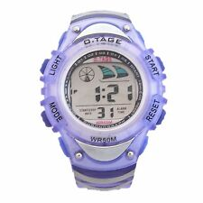 Lady Girl Sports Digital Watches WR 50M Day Date Alarm Stopwatch Timer Backlight