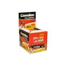 Lot de 10 piles Camélion  Alcaline Plus AAA LR03, 2 lots achetés = 1 lot offert