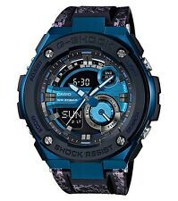 Casio G-Shock G-STEEL * GST200CP-2A Blue Steel Metal Crystal Resin Ivanandsophia
