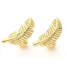Punk Gothic Feather Barbell Cartilage Helix Stud Earring Piercing Men Women HOT