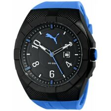 Puma PU103501004 Men's Watch with Blue Band