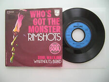 Rimshots / Whatnauts Band - Who's Got The Monst,USA'74,7'' (Single),Vinyl: vg++