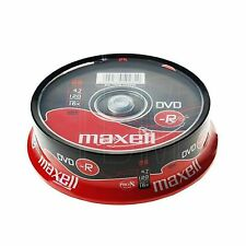 Maxell DVD-R 4.7GB 16x Velocidad 120min Grabable disco DVD Spindle Pack 25