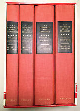 The Complete Greek Tragedies 4 Volumes - Grene Lattimore 1991 Centennial Edition