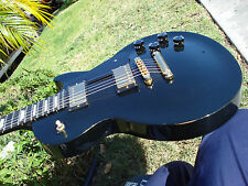 1992 Gibson Les Paul Studio Black with Ebony Fingerboard