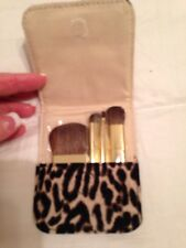 J Crew Makeup Brushes With Case New