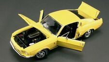 1968 Shelby GT350 YELLOW WT Color #2 1:18 GMP 1801806