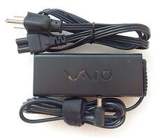 Original  Genuine OEM Sony 90W AC Power Adapter for Sony Vaio VPCSB2ZDZ Notebook