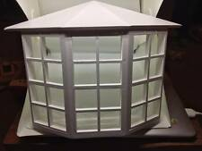 1:12 Scale Dolls House Miniature White Wooden Bay Window