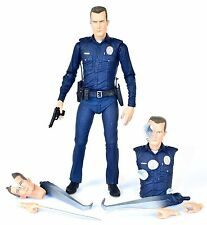 "Terminator 2 T2 ULTIMATE T-1000 7"" scale Action Figure NECA 2015"